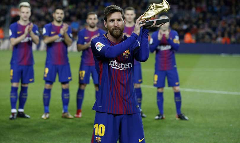 Messi gold shoe