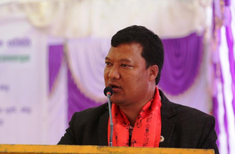 माओवादी केन्द्रका सांसद घिसिङले दिए राजीनामा
