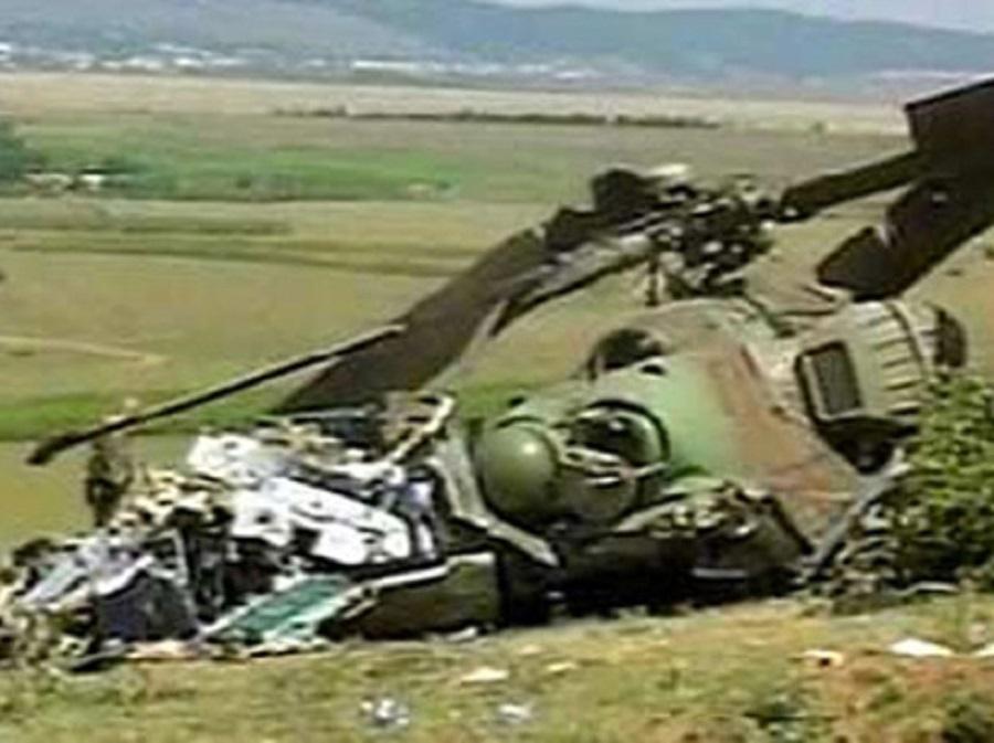 उद्वारमा गएको हेलिकोप्टर नै दुर्घटना, ८ जनाको मृत्यु