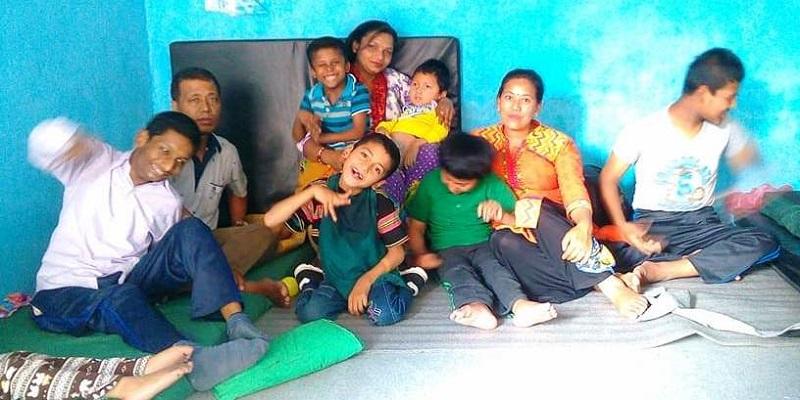 दिवा सेवा केन्द्रबाट बदलिँदै बौद्धिक अपाङ्गता भएका बालबालिका
