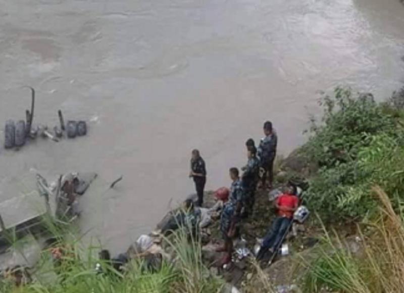त्रिशूली नदीमा १ वर्षमा १९ बेपत्ता ४४ ले ज्यान गुमाए