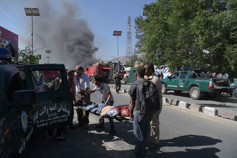 काबुलमा आत्मघाती आक्रमण ६४ को मृत्यु