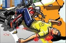 मोटरसाइकल चालकको मृत्यु