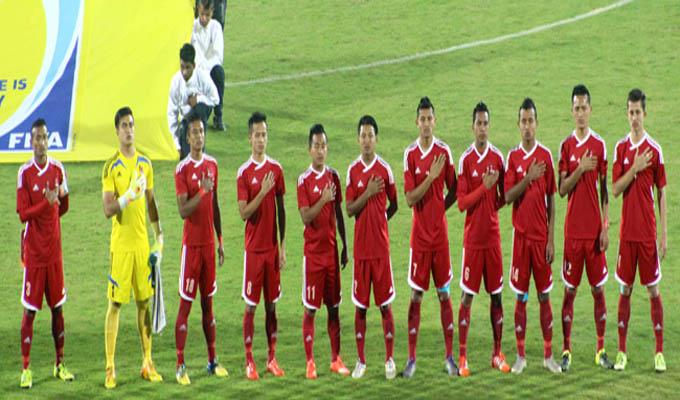 नेपाली फुटबल टोली आज जापान जाँदै