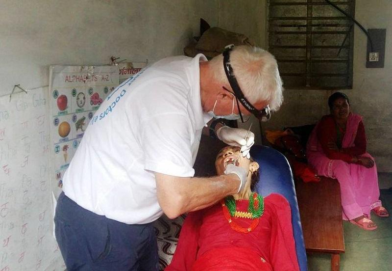 रामेछापको गेलुमा स्वास्थ्य शिविर, ५ सय सर्वसाधारणद्धारा स्वास्थ्य परिक्षण