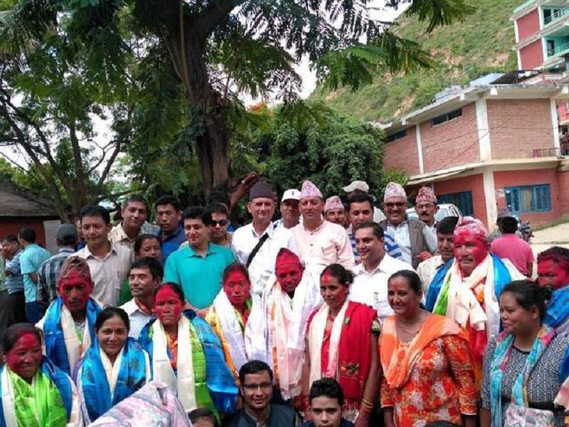 जिल्ला समन्वय समिति रामेछापको संयोजकमा खड्का निर्वाचित