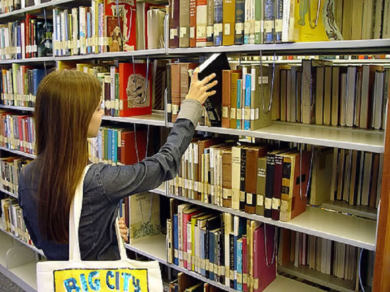 विद्यालयमा  पुस्तकालय