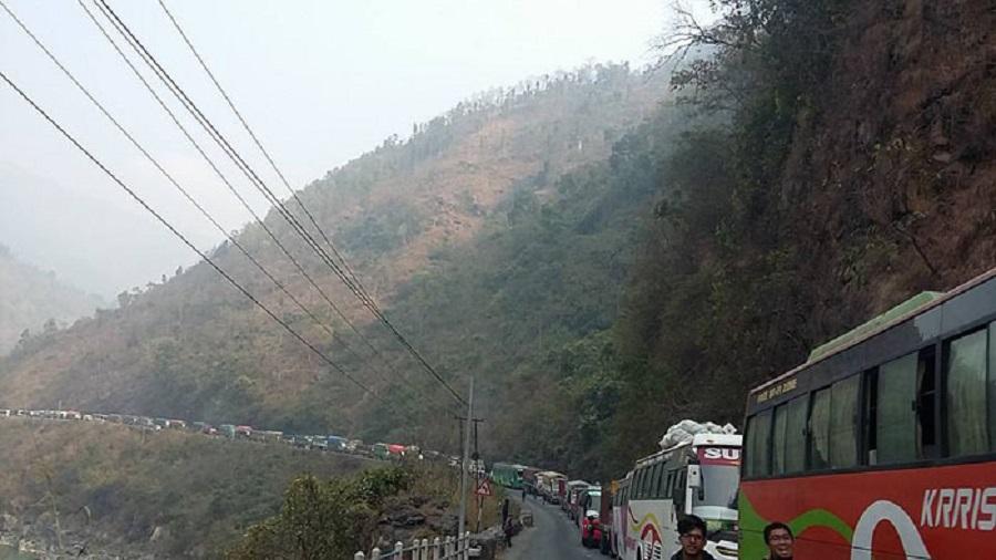 नारायणगढ–मुग्लिन सडकमा