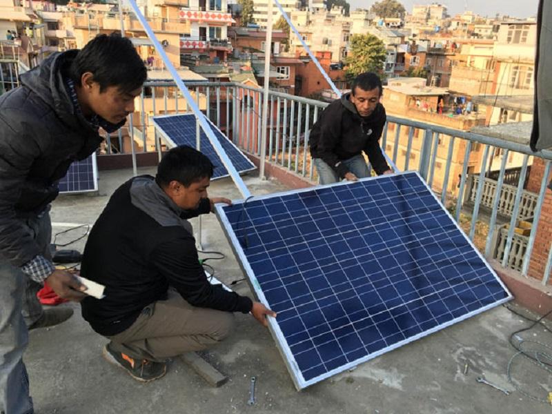 सौर्य उर्जा जडानका लागि ३० प्राविधिक लाई अनुमति प्रदान